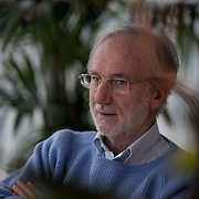 Architect Renzo Piano at the Shard as it nears completio in 2012.