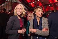 11 FEB 2017, BERLIN/GERMANY:<br /> Manuela Schwesig (L), SPD, Bundesfamilienministerin, Elke Buedenbender (R), Ehefrau von Frank-Walter Steinmeier, waehrend einem Empfang der SPD anl. der Bundesversammlung, Westhafen Event und Convention Center<br />  IMAGE: 20170211-03-003<br /> KEYWORDS: Elke Büdenbender