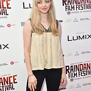 Amanda Seyfried attends World Premiere of Holy Moses - Raindance Film Festival 2018, London, UK. 6 October 2018.