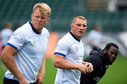 Sam Underhill looks on, Bath Rugby were allowed to start Stage Two of the Premiership Rugby return to play protocol - Mandatory byline: Patrick Khachfe/JMP - 07966 386802 - 06/08/2020 - RUGBY UNION - The Recreation Ground - Bath, England - Bath Rugby training