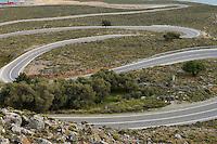 Curvy Road, Komitades, Crete