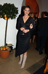 TV presenter KIRSTY GALLACHER <br /><br />at a party to celebrate the 10th anniversary of Jo Malone the perfumer held at The Banquetting House, Whitehall, London on 21st October 2004.<br /><br /><br /><br />NON EXCLUSIVE - WORLD RIGHTS
