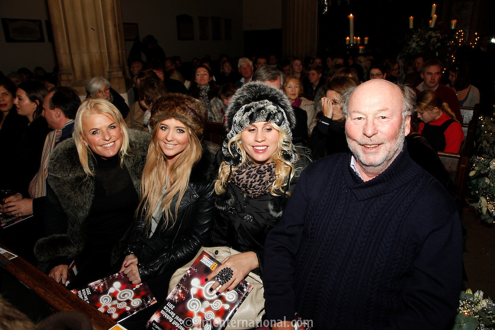Chris Wright and family, Nordoff Robbins Carol Service  2011 sponsored by Coutts. London..Wednesday, 14. Dec 2011