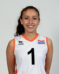 13-05-2014 NED: Selectie Nederlands volleybal team mannen, Arnhem<br /> Op Papendal werd het Nederlands team volleybal seizoen 2014-2015 gepresenteerd / Bo Martherus