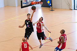 Deaf Basketball at the 2014 Coupe Nationale Multisport Sourds, Brissac, France