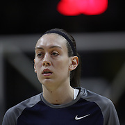 Breanna Stewart, UConn, warming up with team mates before the UConn Vs SMU Women's College Basketball game at Gampel Pavilion, Storrs, Conn. 24th February 2016. Photo Tim Clayton