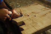 Tiradentes_MG, Brasil.<br /> <br /> Trabalhos de madeira feitos em Tiradentes, Minas Gerais.<br /> <br /> Wood craft in Tiradentes, Minas Gerais.<br /> <br /> Foto: LEO DRUMOND / NITRO