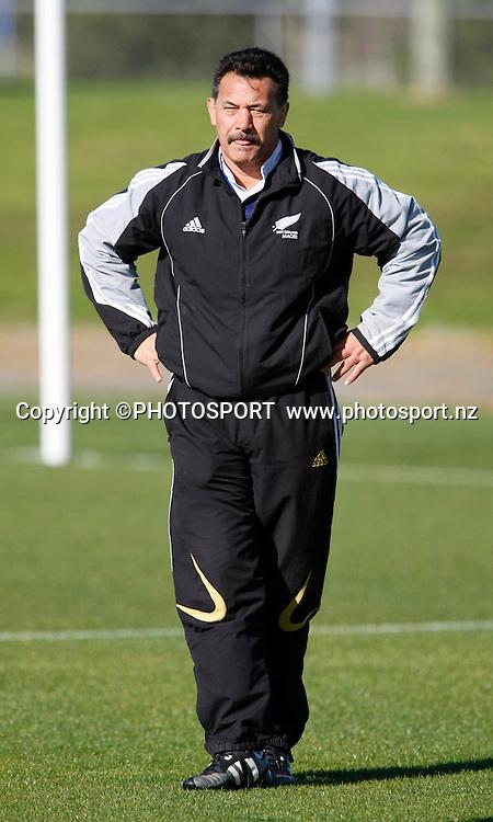 Maori coach Donny Stevenson. New Zealand Maori Rugby Training, North Harbour Stadium Outer Oval, Auckland, Tuesday 3 June 2008. Photo: Simon Watts/PHOTOSPORT
