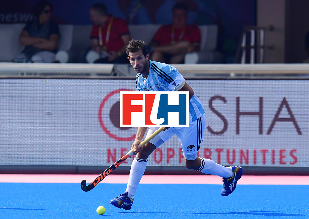 Odisha Men's Hockey World League Final Bhubaneswar 2017<br /> Match id:03<br /> Argentina v Belgium<br /> Foto: Juan Lopez (Arg) <br /> WORLDSPORTPICS COPYRIGHT FRANK UIJLENBROEK