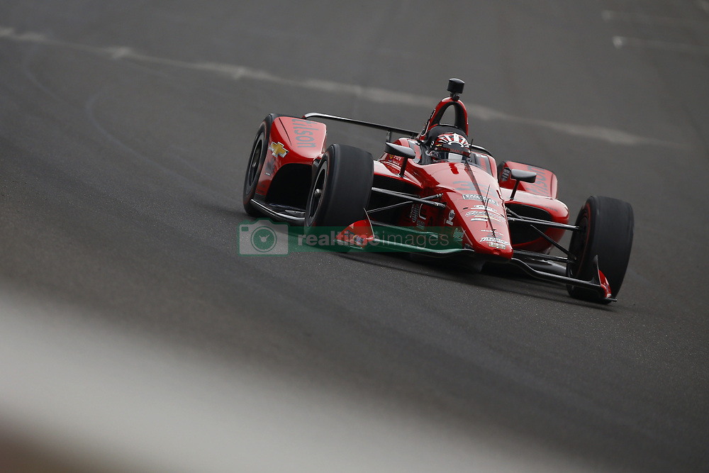 May 18, 2018 - Indianapolis, Indiana, United States of America - JAMES DAVISON (33) of Australia brings his car down the frontstretch during ''Fast Friday'' practice for the Indianapolis 500 at the Indianapolis Motor Speedway in Indianapolis, Indiana. (Credit Image: © Chris Owens Asp Inc/ASP via ZUMA Wire)