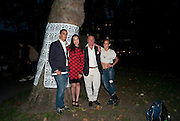 "ALEX DELLAL; YI ZHOU; EDUARDO TESTORI; ALICE DELLAL, Video artist Yi Zhou  first solo show ""I am your Simulacrum"".Exhibition opening at 20 Hoxton Square Projects. Hoxton Sq. London. 1 September 2010.  -DO NOT ARCHIVE-© Copyright Photograph by Dafydd Jones. 248 Clapham Rd. London SW9 0PZ. Tel 0207 820 0771. www.dafjones.com."