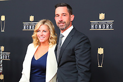 February 2, 2019 - Atlanta, GA, U.S. - ATLANTA, GA - FEBRUARY 02:  Kyle Shanahan  poses for photos on the red carpet at the NFL Honors on February 2, 2019 at the Fox Theatre in Atlanta, GA. (Photo by Rich Graessle/Icon Sportswire) (Credit Image: © Rich Graessle/Icon SMI via ZUMA Press)