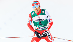 19.02.2016, Salpausselkae Stadion, Lahti, FIN, FIS Weltcup Nordische Kombination, Lahti, Langlauf, im Bild Akito Watabe (JPN) // Akito Watabe of Japan reacts during Cross Country Gundersen Race of FIS Nordic Combined World Cup, Lahti Ski Games at the Salpausselkae Stadium in Lahti, Finland on 2016/02/19. EXPA Pictures © 2016, PhotoCredit: EXPA/ JFK