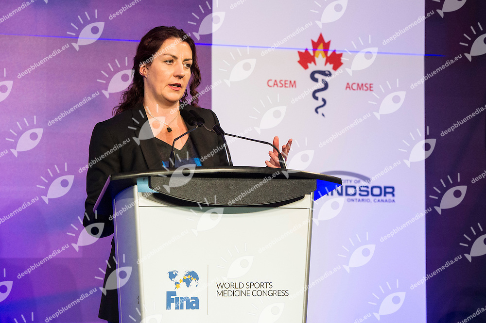 Jane Saycell<br /> FINA 4th World Aquatics Convention<br /> Medical Congress Windsor  Dec. 3rd, 2016<br /> Caesar's Casino - Windsor Ontario Canada CAN <br /> 20161203 Caesar's Casino - Windsor Ontario Canada CAN <br /> Photo &copy; Giorgio Scala/Deepbluemedia/Insidefoto