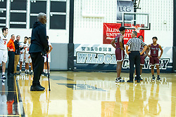 28 December 2019: State Farm Holiday Classic Coed Basketball Tournament , Normal-Bloomington Illinois<br /> <br /> Peoria High Lions v Normal Community  Ironmen boys basketball