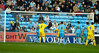 Photo: Ed Godden.<br /> Coventry City v Sheffield Wednesday. Coca Cola Championship. 18/11/2006. Chris Brunt (out of picture) opens the scoring for Sheffield Wednesday.