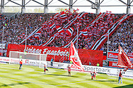 Fans of FC Ingolstadt 04 during the Bundesliga match at Audi Sportpark, Ingolstadt<br /> Picture by EXPA Pictures/Focus Images Ltd 07814482222<br /> 07/05/2016<br /> ***UK &amp; IRELAND ONLY***<br /> EXPA-EIB-160507-0060.jpg