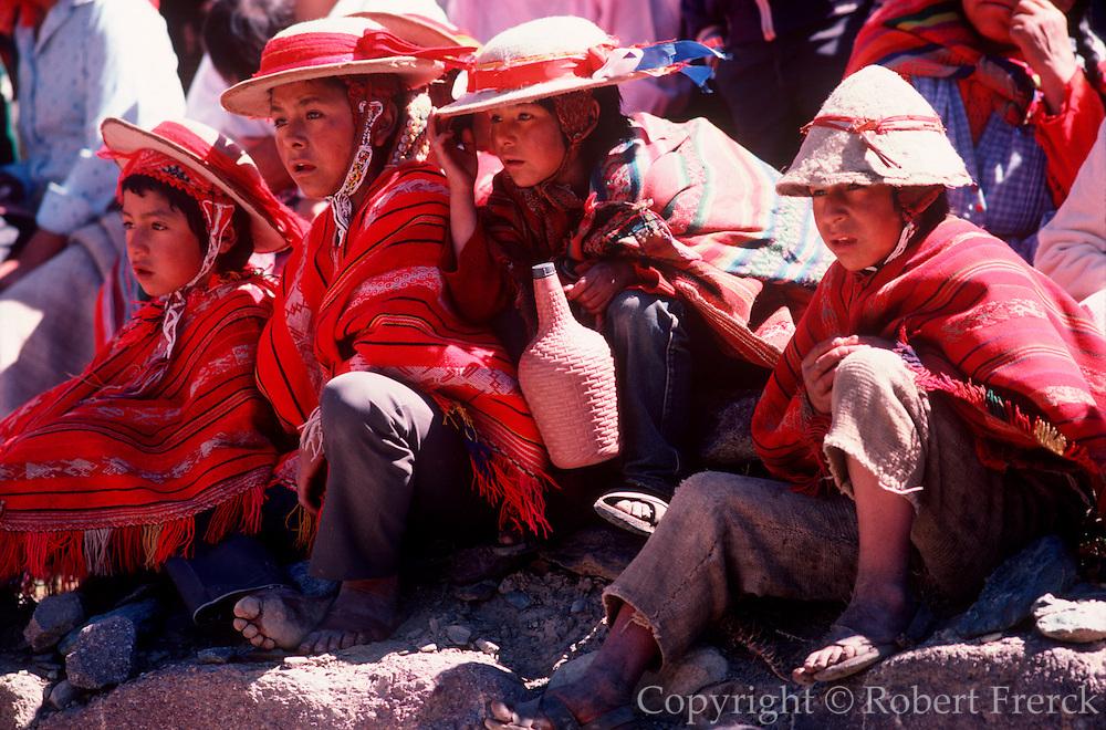 PERU, FESTIVALS Inti Raymi, Inca Sun Festival, children