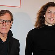 NLD/Amsterdam/20120204 - 30ste Verjaardag Richy Brown, Frans Molenaar en viend