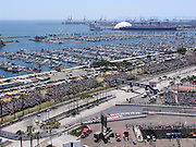 LONG BEACH, CA - APRIL 09: General views of the 2005 Long Beach Grand Prix and the parties at the International Towers on April 9, 2005 in Long Beach, California. ©Paul Anthony Spinelli