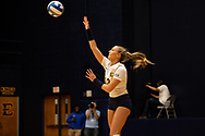 October 31, 2018 - Johnson City, Tennessee - Brooks Gym: ETSU outside hitter Adison Minor (13)<br /> <br /> Image Credit: Dakota Hamilton/ETSU
