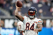 Cordarrelle Patterson (WR) of the Chicago Bearsduring the International Series match between Oakland Raiders and Chicago Bears at Tottenham Hotspur Stadium, London, United Kingdom on 6 October 2019.