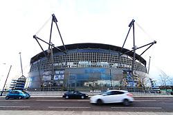 A general view of the Etihad Stadium  - Mandatory by-line: Matt McNulty/JMP - 26/04/2016 - FOOTBALL - Etihad Stadium - Manchester, England - Manchester City v Read Madrid - UEFA Champions League Semi Final First Leg
