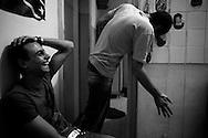 Emotional Catharsis. Remon (L) and Tamir (R). Nag Hamadi, Egypt.