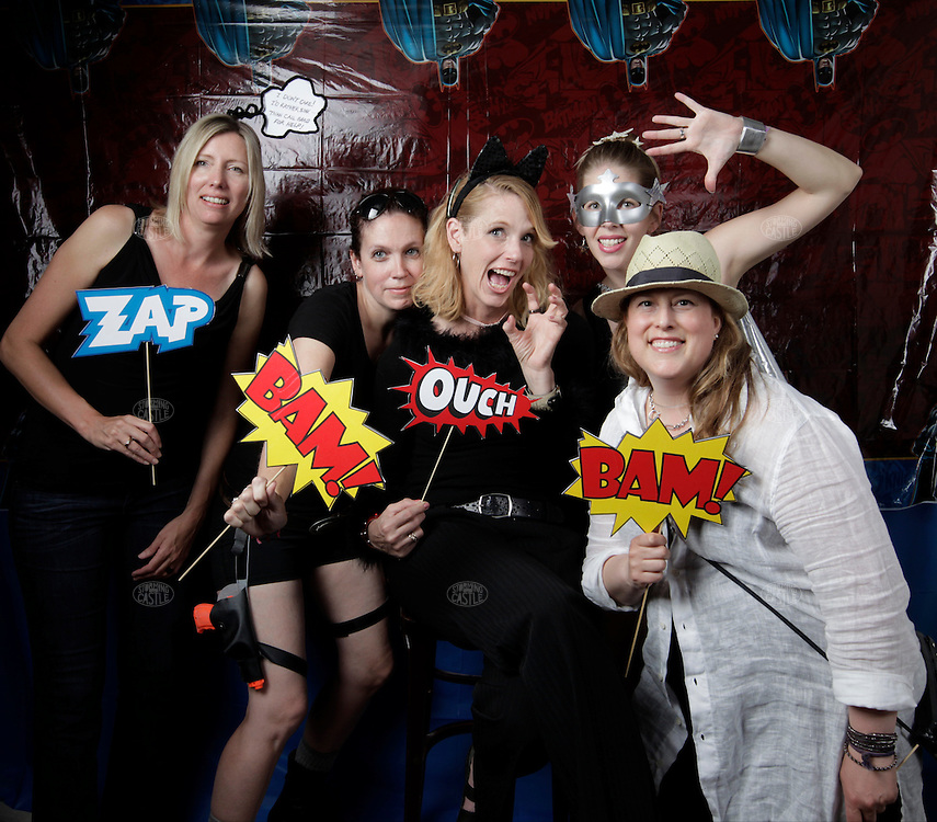 Photo Booth at Albert Molina's 40th birthday party, ay 31, 2014, at Resevoir Bar in Grand Rapids, MI, USA