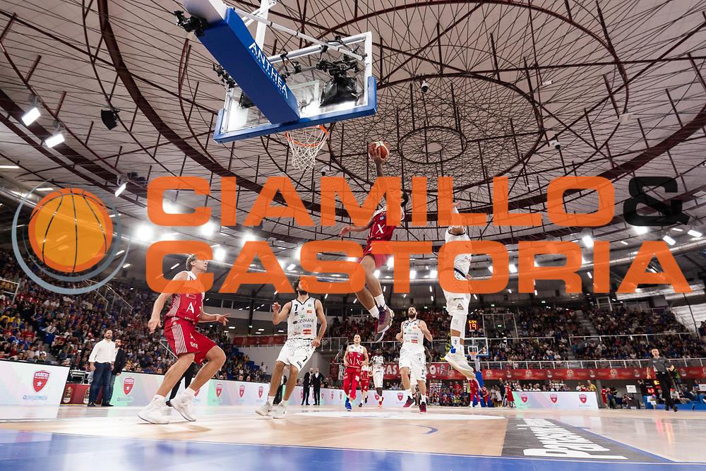 Mike James<br /> A | X Armani Exchange Milano - Leonessa Germani Brescia<br /> LBA Lega Basket Serie A<br /> Zurich Connect Supercoppa 2018<br /> Brescia, 29/09/2018<br /> Foto MarcoBrondi / Ciamillo-Castoria