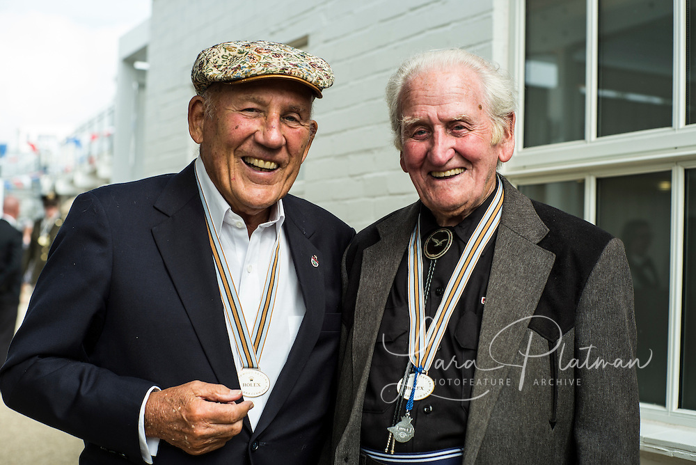 Goodwood Revival 2014 Sir Stirling Moss, Norman Dewis,
