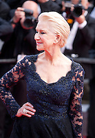 Actress Helen Mirren at the gala screening for the film The Unknown Girl (La Fille Inconnue) at the 69th Cannes Film Festival, Wednesday 18th May 2016, Cannes, France. Photography: Doreen Kennedy