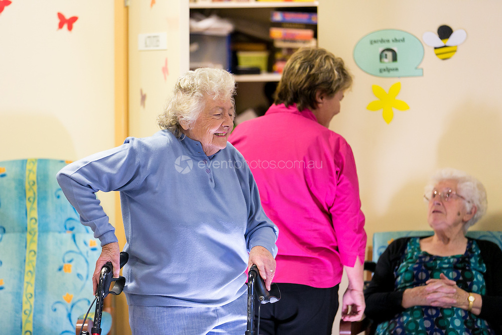 Optus Community Grants. Inala Day Respite Centre. Photo By Pat Brunet/Event Photos Australia.