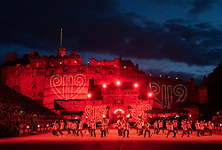 Edinburgh, Scotland, UK. 5 August, 2019.  The Royal Edinburgh Military Tattoo forms part of the Edinburgh International festival. Pictured; The New Zealand Army Band