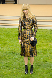 Burberry Prorsum Menswear Spring /Summer 2014 Collection.<br /> Suki Waterhouse arrives for Burberry Prorsum Menswear Spring /Summer 2014 Collection, Perks Field, Kensington Gardens, <br /> London, United Kingdom<br /> Tuesday, 18th June 2013<br /> Picture by Chris  Joseph / i-Images