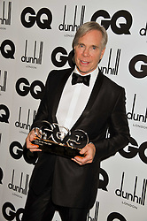 Designer of The Year TOMMY HILFIGER at the GQ Men of the Year 2011 Awards dinner held at The Royal Opera House, Covent Garden, London on 6th September 2011.