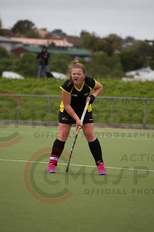 OTAGO V TARANAKI<br /> U15 PREMIER GIRLS HOCKEY<br /> NORTH HARBOUR STADIUM<br /> Alana Warrington CMGSPORT<br /> &copy;cmgsport2017