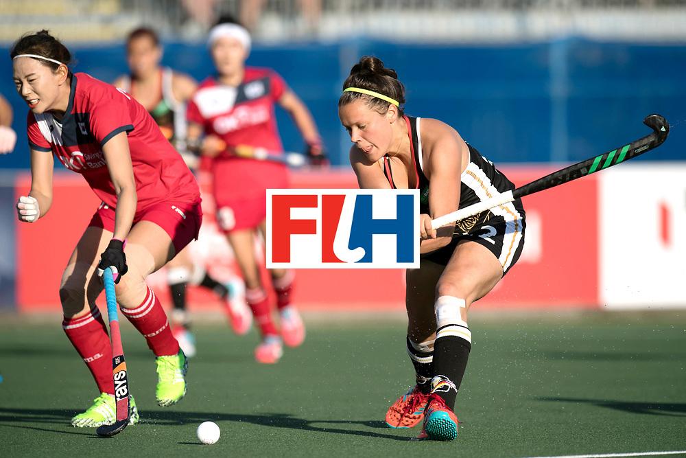 AUCKLAND - Sentinel Hockey World League final women<br /> Match id: 10303<br /> 13 GER v KOR (QF) 3-3<br /> Korea in to semi after shoot out.<br /> Foto:  .Charlotte Stapenhorst <br /> WORLDSPORTPICS COPYRIGHT FRANK UIJLENBROEK