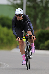 26.06.2015, Einhausen, GER, Deutsche Strassen Meisterschaften, im Bild Jasmin Rebmann (RV Wald-Heil Stegen) // during the German Road Championships at Einhausen, Germany on 2015/06/26. EXPA Pictures © 2015, PhotoCredit: EXPA/ Eibner-Pressefoto/ Bermel<br /> <br /> *****ATTENTION - OUT of GER*****