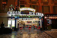 Royal Caribbean International's  Independence of the Seas, the world's largest cruise ship...Onboard feature pictures...Ben & Jerry's on the Royal Promenade