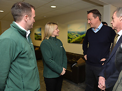 David Cameron attends a meeting in Somerset.<br /> Day 3 of Prime Minister David Cameron's regional tour. <br /> Friday 4th of April 2014. Picture by Ben Stevens / i-Images
