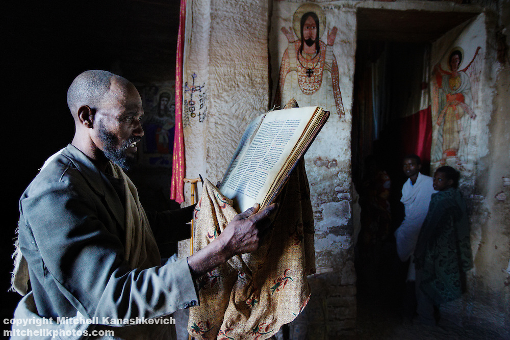 The Ethiopian Church is one of the oldest in the world, dating back to 4th Century AD, when Orthodox Christianity was made the official religion of the Axumite Kingdom, present day Ethiopian region of Tigray. Over the centuries, Christianity has shaped the people's psyche, as well as the landscape of Tigray, where hundreds of churches and monasteries have been erected and even carved right into mountain faces, so abundant in the region.<br />