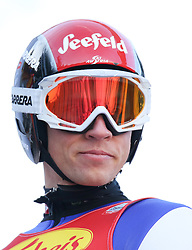 17.12.2016, Nordische Arena, Ramsau, AUT, FIS Weltcup Nordische Kombination, Skisprung, im Bild David Pommer (AUT) // David Pommer of Austria during Skijumping Competition of FIS Nordic Combined World Cup, at the Nordic Arena in Ramsau, Austria on 2016/12/17. EXPA Pictures © 2016, PhotoCredit: EXPA/ Martin Huber