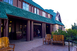 Lodge at Bryce Canyon National Park, Bryce Canyon Lodge, Utah, UT, Southwest America, American Southwest, US, United States, lodging, tourism, tourist, vacation, travel, hotel, Image ut369-18189, Photo copyright: Lee Foster, www.fostertravel.com, lee@fostertravel.com, 510-549-2202
