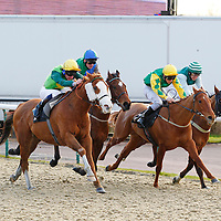 Hereford Boy and Adam Kirby winning the 3.05 race