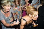 PATTI PALMER-TOMPKINSON; TARA PALMER-TOMPKINSON, Book launch party for  Sashenka, a romantic novel set in St Petersburg following a society girl who becomes involved with the Communist Party. By Simon Sebag-Montefiore. Asprey. New Bond St. London. 1 July 2008.  *** Local Caption *** -DO NOT ARCHIVE-© Copyright Photograph by Dafydd Jones. 248 Clapham Rd. London SW9 0PZ. Tel 0207 820 0771. www.dafjones.com.