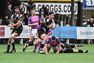 Bedwas's Nathan Hudd in action during todays match - Mandatory by-line: Craig Thomas/Replay images - 30/12/2017 - RUGBY - Sardis Road - Pontypridd, Wales - Pontypridd v Bedwas - Principality Premiership