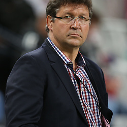 DURBAN, SOUTH AFRICA - MAY 31: Gert Smal  Director of Rugby DHL Stormers during the Super Rugby match between Cell C Sharks and  DHL Stormers at Growthpoint Kings Park on May 31, 2014 in Durban, South Africa. (Photo by Steve Haag/Gallo Images)