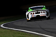 Autoaid/RCIB Insurance Racing Ginetta G55 GT4 with drivers Adam Hatfield & Benjamin Wallace during the British GT Championship Round 9 at  Brands Hatch England on 6 August 2017. Photo by Jurek Biegus.