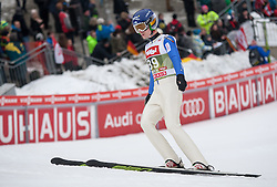 03.01.2015, Bergisel Schanze, Innsbruck, AUT, FIS Ski Sprung Weltcup, 63. Vierschanzentournee, Innsbruck, Qalifikations-Sprung, im Bild Sami Niemi (FIN) // Sami Niemi of Finland reacts after his qualification jump for the 63rd Four Hills Tournament of FIS Ski Jumping World Cup at the Bergisel Schanze in Innsbruck, Austria on 2015/01/03. EXPA Pictures © 2015, PhotoCredit: EXPA/ Jakob Gruber